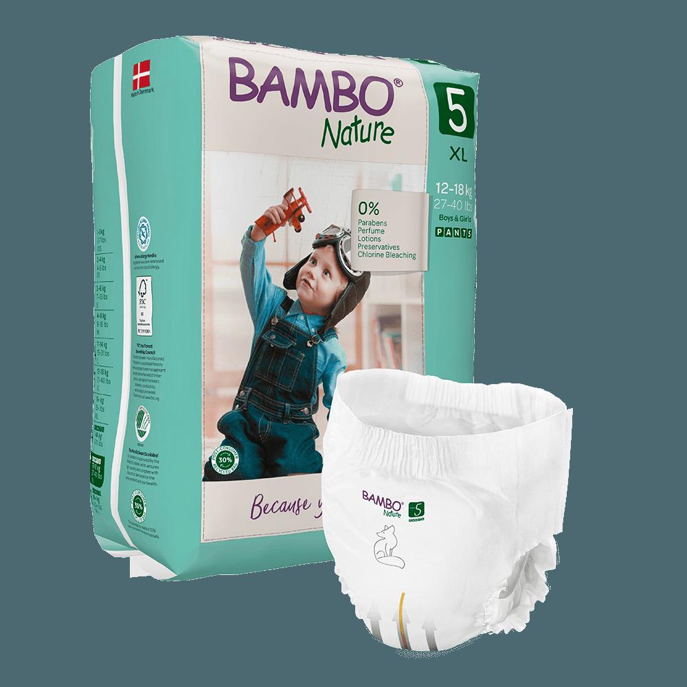 Cuecas-Fralda Bambo Nature, 5