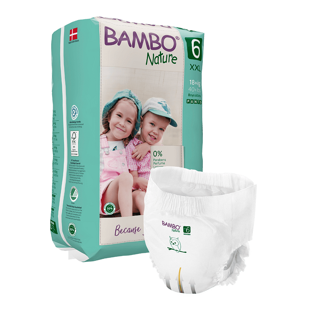 Cuecas-Fralda Bambo Nature, 6